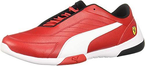 Puma 306219 01 Zapatillas de deporte Unisex Adulto, Rosso Corsa/White, 28