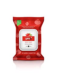 Single-use facial wipes clean skin and remove oil while you're on the go Say Yes To salicylic acid and tomatoes to control oil, break down blemishes and unclog pores while protecting skin from environmental agents that can cause breakouts Perfect for...