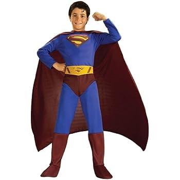 Rubies`s - Disfraz infantil de Superman Returns (882301-M): Amazon ...