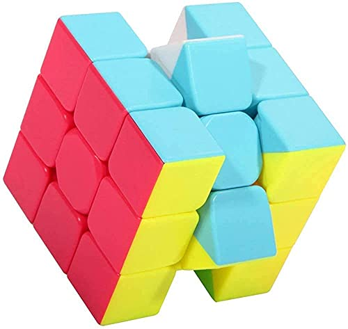 QiYi Warrior S 3x3 Speed Cube Magic Cube 3x3x3 Rompecabezas de cubo mágico sin pegatinas