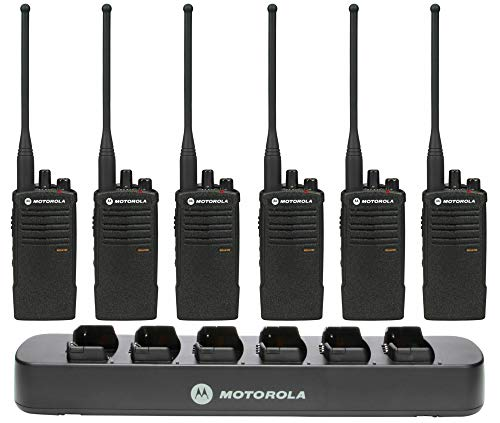 Motorola RDU4100 6 Pack Bundle with Multi Charger