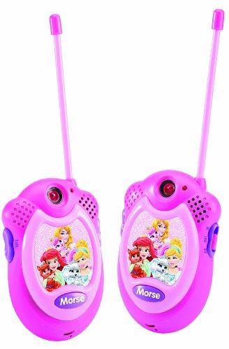 Disney Princesas Walkie-Talkie, Color Rosa (Lexibook TW06DP)