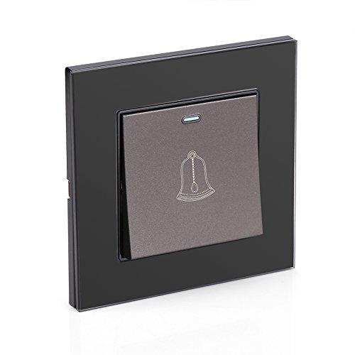 Timbre de la puerta, Interruptor de cristal moderado de 220~