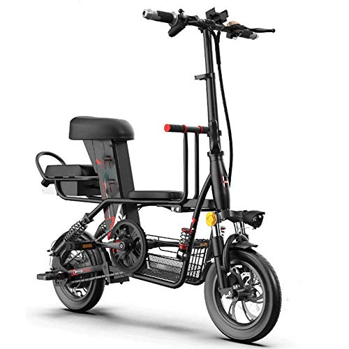 Find Bargain CHENJIU Adult Electric Scooter, Small Body, Strong Endurance, Disc Brakes Used Front an...