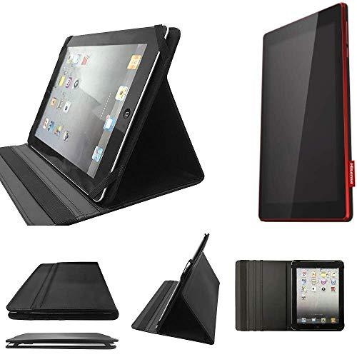 K-S-Trade Hisense Sero 7 HD Schutz Hülle Business Hülle Tablet Schutzhülle Flip Cover Ultra Slim Bookstyle Tasche Für Hisense Sero 7 HD, Schwarz. Kunstleder Qualitätsware
