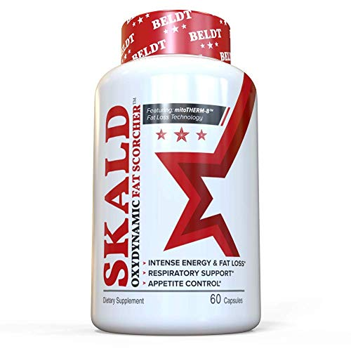 Skald - Experience Greater Energy Rush, Weight Loss and Mood Boost Than Legendary ECA-Stack - Over 1,000,000 Bottles Sold