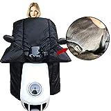 Cubierta de la Pierna de los Scooters de la Motocicleta de Invierno con la Cubierta de la Pierna del Calentador de la Rodilla de la Manta a Prueba de Viento del Calentador de la Mano for los Scooters