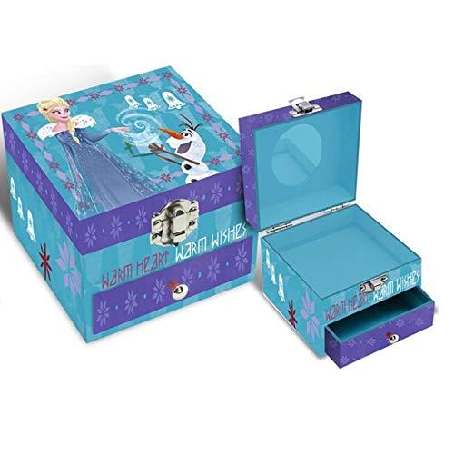 Disney Frozen–Boite à bijoux, Multicolore (Kids Euroswan kd-wd19574)