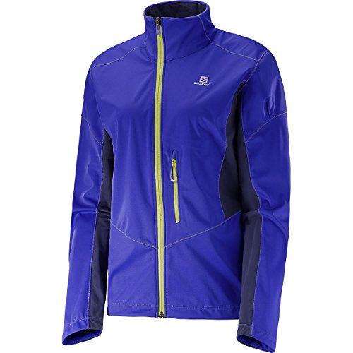 Salomon Lightning Softshell-Jacke JKT W - Jacke für Damen, Farbe Lila, Größe XS
