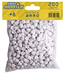 Gonher-970/0 Balas Paper Shooter, Color Blanco (970/0)
