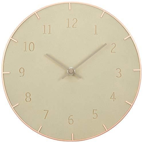 Piatto Wall Clock 10In Concrete