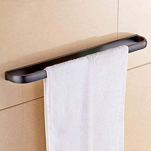 OLDJTK Toalla de Toallas de Toallas en Rack de 60 cm de latón Macizo Accesorios Toalla de Toallas de Toallas de baño Estante
