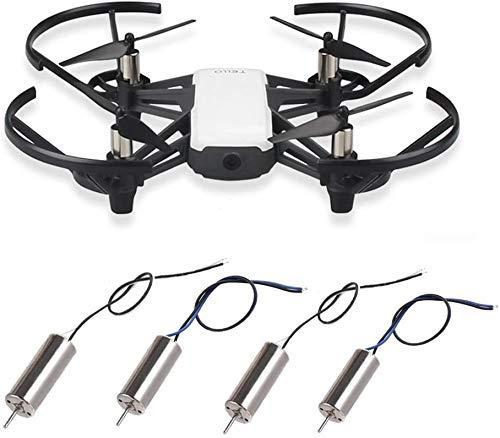 YNSHOU Accesorios de Juguete Blade hélice Drone 8520 Motors Coreless CW CCW Motor Compatible con Ryze Tello 720P Cámara WiFi FPV RC Quadcopter, 2 Pares de Cuchillas de Repuesto para Drones