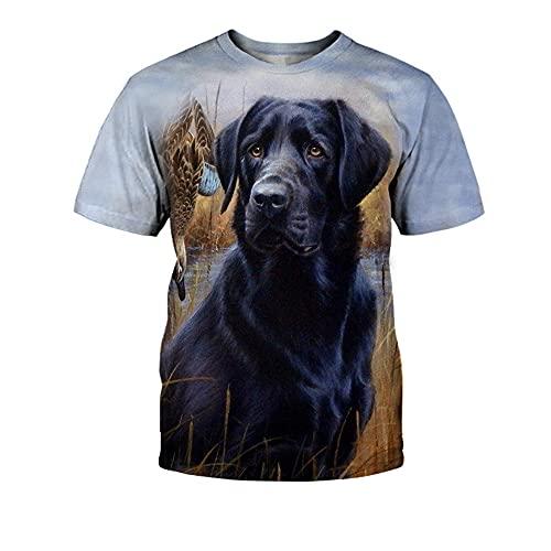 Shirt Verano Hombres Cuello Redondo Creativo 3D Animal Print Hombres T-Shirt Estilo Hip Hop Moda Hombres Shirt Casual Personalidad Tendencia Manga Corta Hombres Ropa De Calle TX-2681 5XL