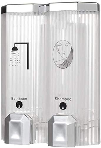 Zeep dispensers, wand- zeep en hand double opbergdoos kan shampoo, zeep, conditioner houdt