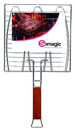 Somagic SO450210 Grille Double à Poisson 28 x 28 cm