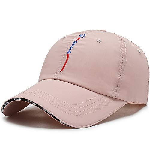 Clape - Gorra de béisbol de secado rápido UPF50 + gorro de papá ultraligero para hombres y mujeres, Mujer, Color rosa CP13., 21.6-23.6 inch