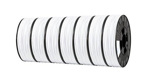 ICE FILAMENTS ICE7VALP113 Lot de 7 filaments PET 1,75 mm 0,75 kg Blanc