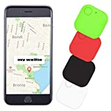 Key Finder, Key Locator for Wallet Tracker Phone Finder, Bluetooth Smart Lost Item Tracker Tag (1.51.5inches) 4Pcs.