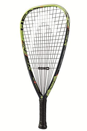 HEAD Graphene Touch Extreme 175 Racquetball Racket Pre-Strung Head Light Balance Racquet - 3 7/8 Inch Grip