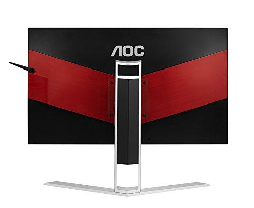 "AOC Agon AG241QX 24"" Gaming Monitor, QHD 1440P, G-Sync Compatible + Adaptive-Sync, 144Hz, 1ms, Quickswitch Keypad, Vesa, 4Yr Zero Dead Pixel, 1Yr Accidental Damage"