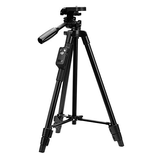 スマホ三脚 ビデオカメラ 三脚 一眼レフカメラ 軽量 ミニ 3WAY雲台 4段階伸縮 360回転 Android対応 コンパ...