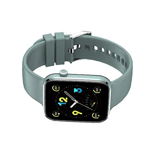 IUwnHceE Inteligente Venda de Reloj del Reloj del perseguidor de la Aptitud Z15 Impermeable SmartWatch Llamada Bluetooth del Reloj del corazón Tasa de detección de la Mujer de los Hombres Azul