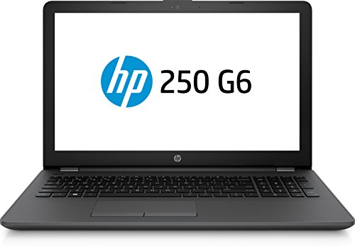 HP 250 G6 Notebook PC, Intel® CoreTM i3-7020U, 4 GB di RAM, SATA da 500 GB, Nero