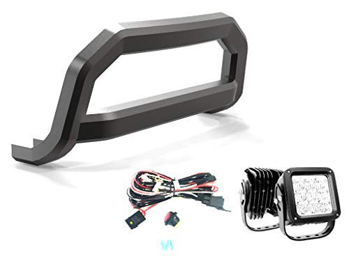 VANGUARD Black Powdercoat Optimus Sport Bar 4.5in Cube LED Kit | Compatible with 08-19 Nissan Rogue