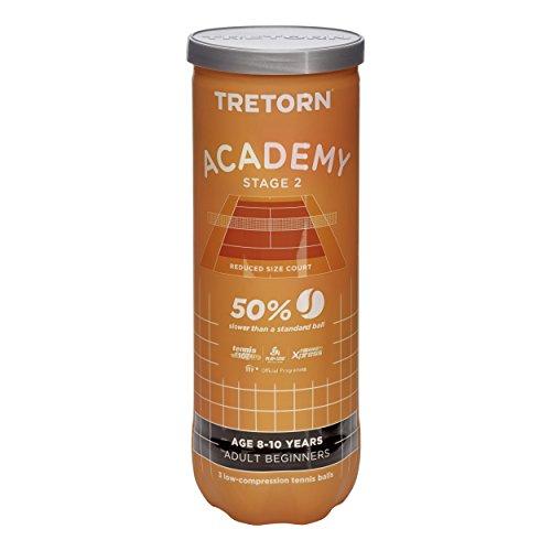 Tretorn Academy Orange (Stage 2) - Confezione da 3 palline da tennis