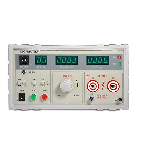 Durable Testeur de tension de support d'affichage numérique MCH-2672A Testeur de courant alternatif 5KV à double usage (Size : 110V)