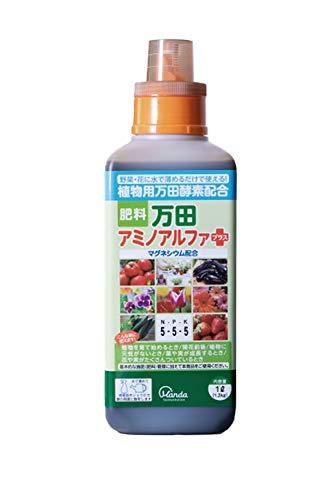 万田酵素 アミノアルファ プラス 1L 植物用 液体 肥料