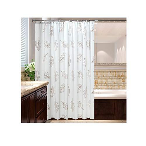 DOLOVE Duschvorhang Antischimmel 120x200 Baum 3D Duschvorhang Polyester Bad Vorhang Waschbar