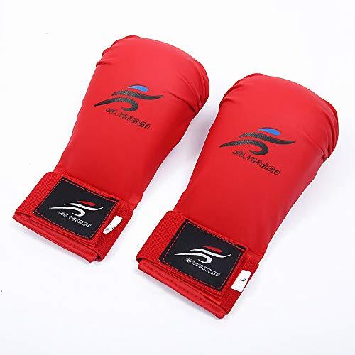 KJDS Boxhandschuhe, verwendet für Training, Muay Thai Maya Leder Sparring, Boxen, Boxen, Boxhandtaschen, Schlüsselpads, Grip Dummy und Doppelköpfige Speedball Boxhandschuhe 2020