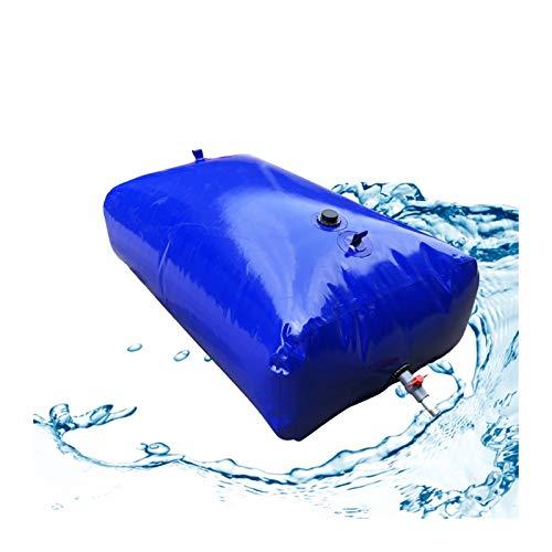 Almacenamiento de agua Contenedor Vejiga De Agua De PVC Gran Capacidad Sin BPA Plegable Al Aire Libre Patio Emergencia Tamaño Personalizado ZLINFE (Size : 4000L/3x1.7x0.8M)