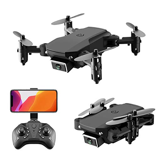 XIAOKEKE Mini Drone, GPS Drone with Camera, RC Quadcopter 4K 5G WiFi FPV Transmission Drone for Adults, Auto-Return, Follow Me, Orbit Mode, Altitude Hold, Best for Beginners,Black