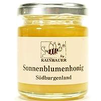 【オーストリア産オーガニックひまわり蜂蜜 120g 2本】100%純粋はちみつ