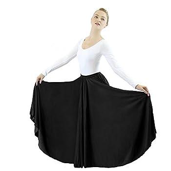 long circle skirts