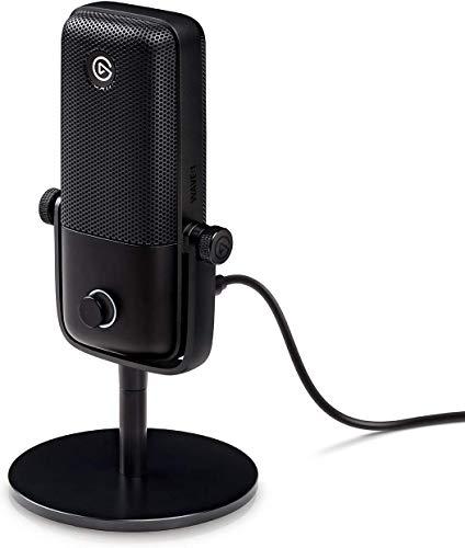 Elgato Wave: 1 Premium USB Condenser Microphone and Digital Mixing Solution,...