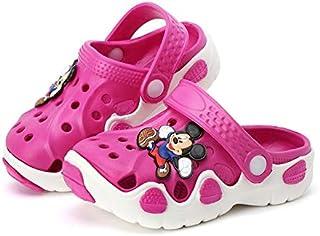 HLRY Zapatos de la Cueva de Dibujos Animados de los niños, Zapatillas para niños de la Playa de Las niñas de los Hombres, ...