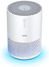 TOPPIN HEPA Air Purifiers for Home - TPAP002 with Fragrance Sponge UV Light, Eliminate Pollen Pet Hair Dander Smoke Dust Odors Airborne Contaminants for bedroom, Available for California, White