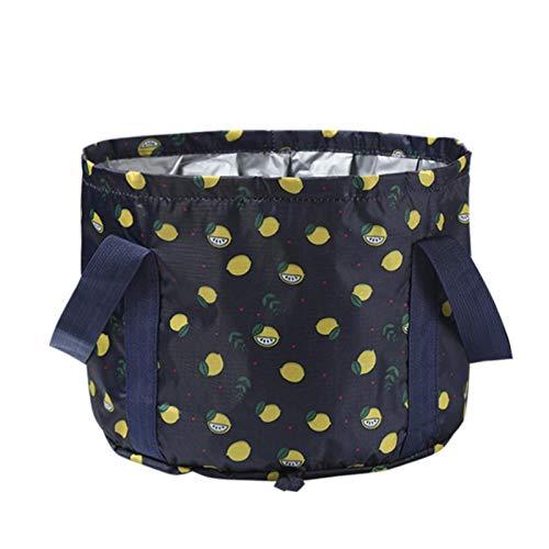 Liuxingyu Collapsible Bucket Folding Bucket Reusable Portable Washing Basin For Camping, Outdoor, Traveling, Fishing, Picnics, 18L
