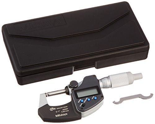 Mitutoyo 293-344-30 - Micrometro digitale IP65 senza ditale con uscita