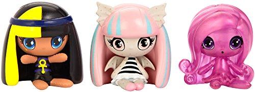 Monster High Minis 3-er Pack, inkl. Getting Ghostly Cleo de Nile, Rochelle Goyle und Ari Hauntington
