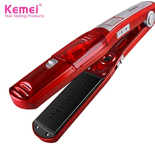 Steam traightening Hair Irons Automatic Straight Hair Electric Straightener Temperature Display Flat Iron Tools Professional Ceramic Tourmaline Heat Up Styler Tool
