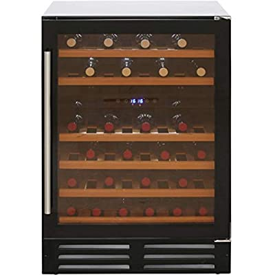 Belling Unbranded 600BLKWC Built In Wine Cooler - Black by