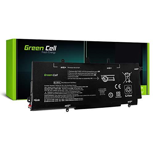 Green Cell® BL06XL HSTNN-DB5D 722297-001 722236-2C1 Batería para HP EliteBook Folio 1040 G1 G2 Ordenador (3100mAh 11.1V Negro)