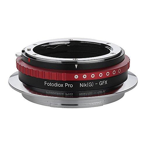 Fotodiox Pro Adaptador De Lentes Compatible con Lentes de Nikon G a Cámaras con Montura de Fujifilm GFX G