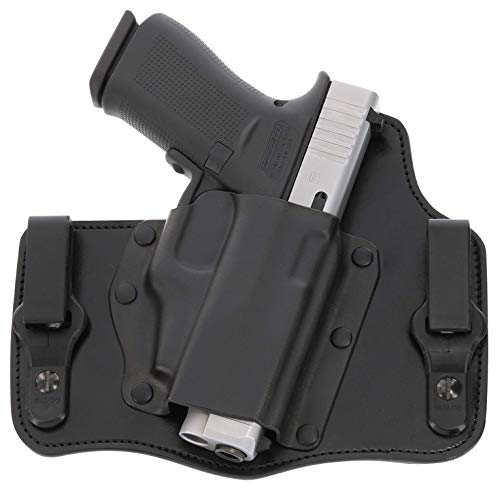 GALCO - KingTuk Deluxe Inside The Waistband Holster for S&W M&P Shield 9/40, Right Hand  (Black) (KT652B)