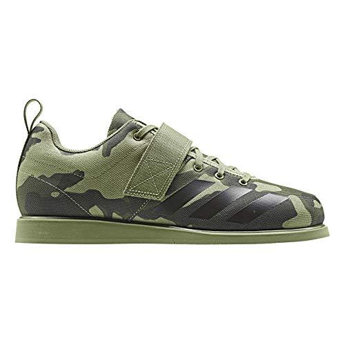 adidas Powerlift 4 Chaussures d'haltérophilie Homme Vert, 49 1/3